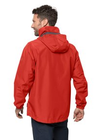 Jack Wolfskin - STORMY POINT JACKET  - Waterproof jacket - lava red - 1