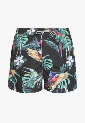JJIARUBA JJSWIMSHORTS - Swimming shorts - black