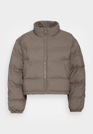 PROMIS SHORT PUFFER JACKET - Winter jacket - dark khaki