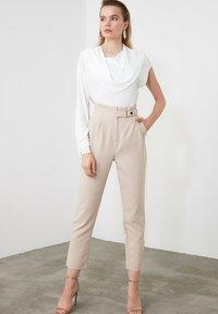 Trendyol - Trousers - beige - 3