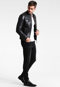 Serge Pariente - TONIC - Leren jas - black - 1