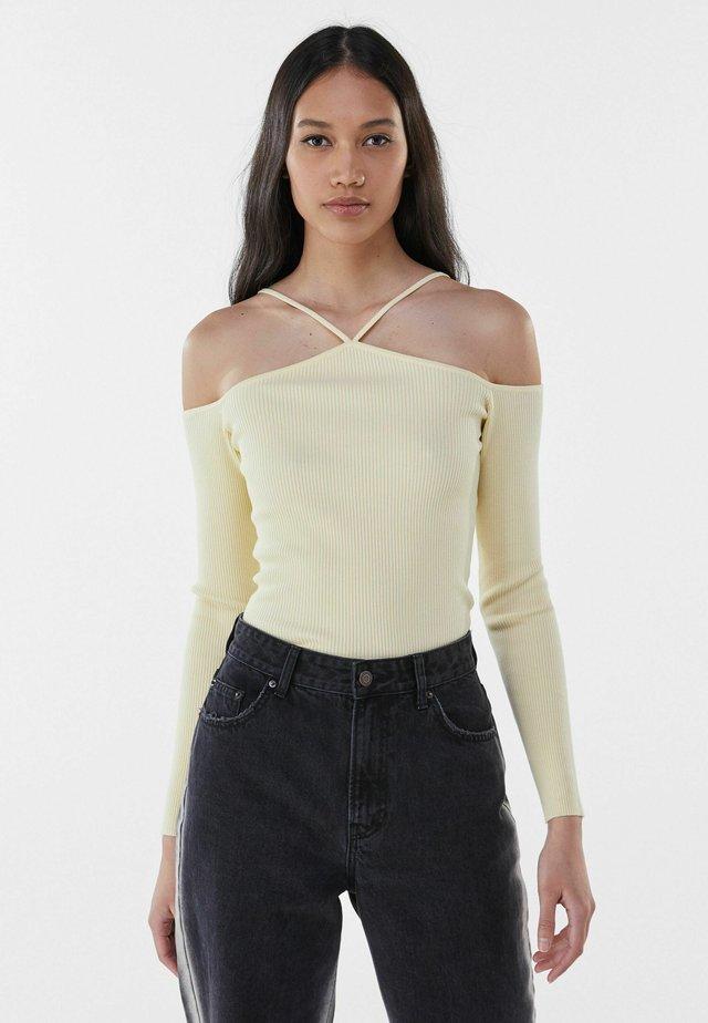 T-shirt à manches longues - yellow