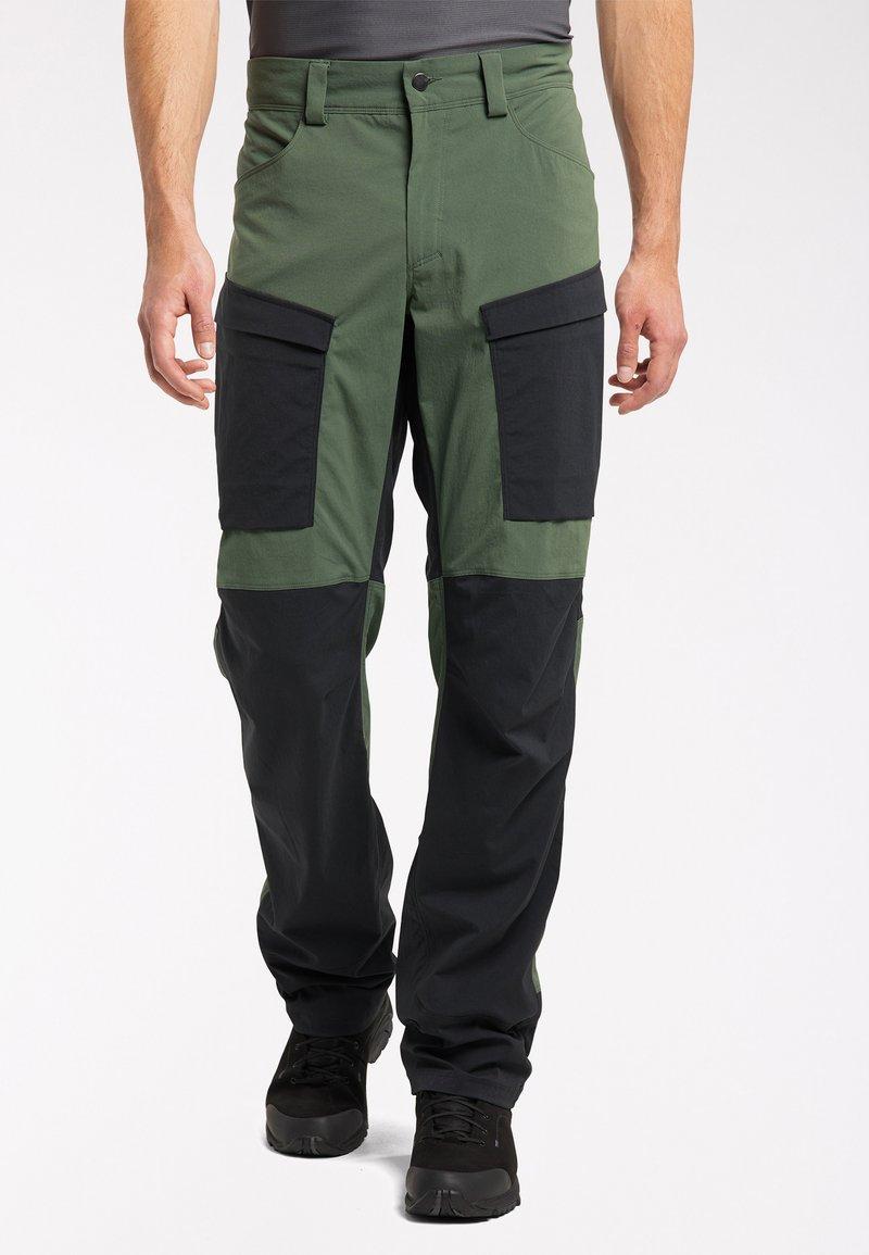 Haglöfs - Outdoor trousers - fjell green/true black