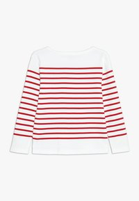 Armor lux - MARINIÈRE AMIRAL KIDS - Long sleeved top - blanc/braise - 1