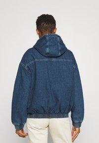 BDG Urban Outfitters - HOODED SKATE JACKET - Jeansjakke - dark vintage - 2
