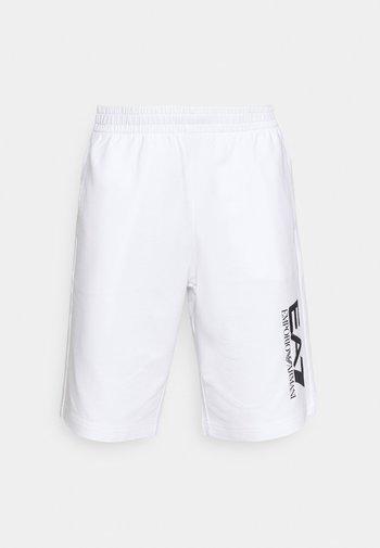 Shorts - white/black