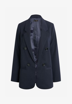 RELAXED DOUBLE BREASTED - Blazer - dark blue