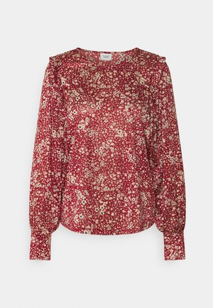 JDYFLORA - Long sleeved top - sun dried tomato