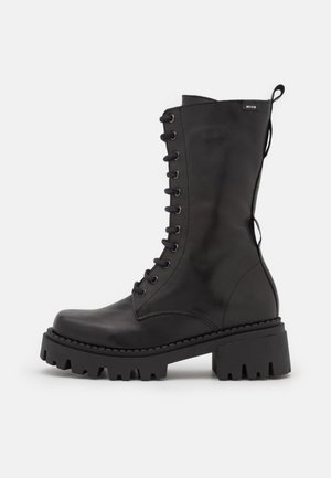 SKWARE - Lace-up boots - black