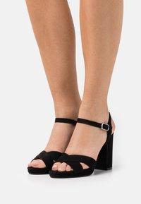 Anna Field - Platform sandals - black - 0