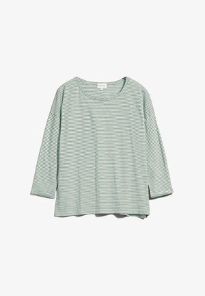SIAA - Long sleeved top - eucalyptus green-oatmilk