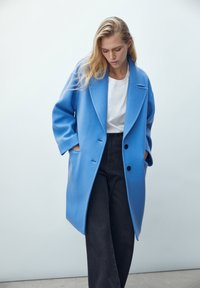 Massimo Dutti - Short coat - blue - 4