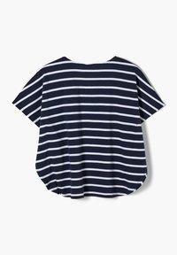 s.Oliver - Print T-shirt - dark blue stripes - 1