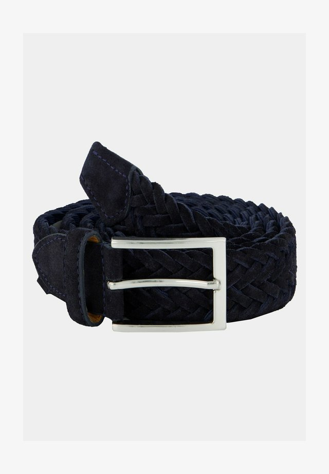 Braided belt - dunkelindigo