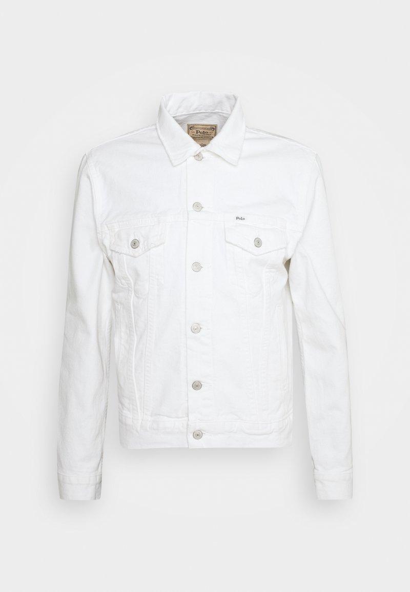 Polo Ralph Lauren - ICON TRUCKER JACKET - Denim jacket - adamson white