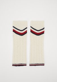 Tommy Hilfiger - LEG WARMERS CABLE - Leg warmers - off white - 3