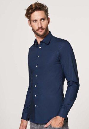 SUPER SLIM FIT - Shirt - navy