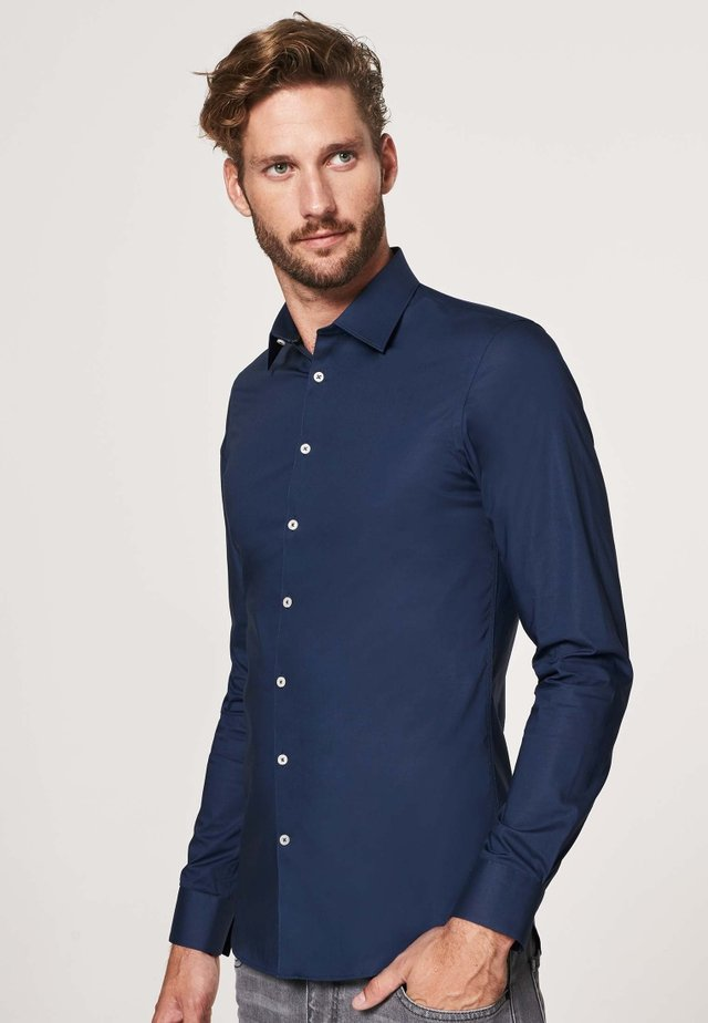 SUPER SLIM FIT - Shirt - navy
