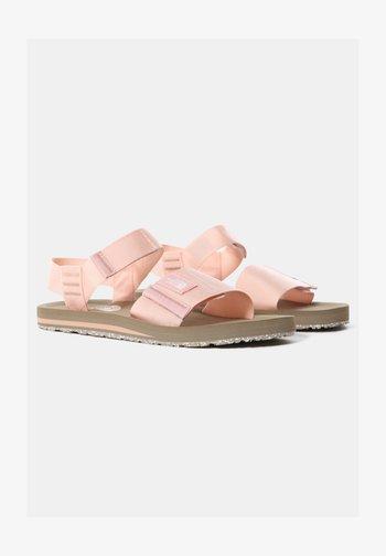 W SKEENA SANDAL - Walking sandals - eveningsandpink cafecreme