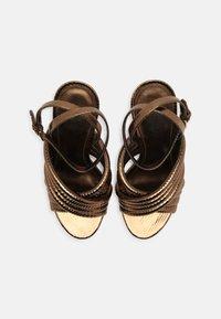 MICHAEL Michael Kors - ROYCE - Sandaalit nilkkaremmillä - dark bronze - 5