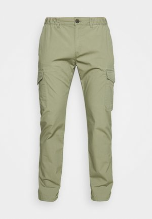 PANTS - Pantaloni cargo - tree moss green