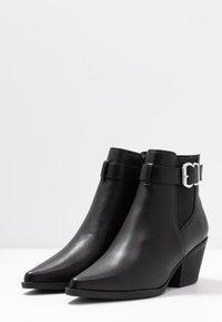 New Look - BRICK - Boots à talons - black - 4