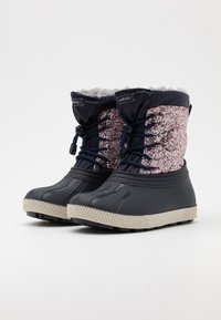 Friboo - Botas para la nieve - multicoloured/dark blue - 1