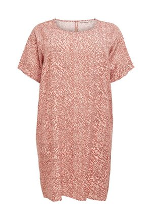 Day dress - etruscan red