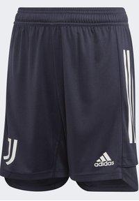 adidas Performance - JUVENTUS TRAINING SHORTS - Sports shorts - blue - 0