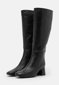 Unisa - MIEDE - Vysoká obuv - black - 2