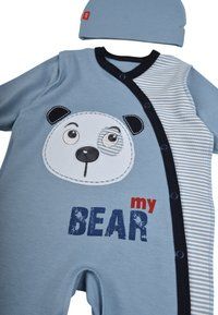 Leo - BABY SET BEAR 4 PACK - Kruippakje - grau/blau - 5