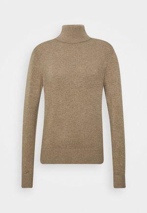 JOANNE ROLL - Pullover - beige melange