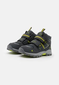 Kappa - HOVET TEX UNISEX - Hiking shoes - grey/lime - 1