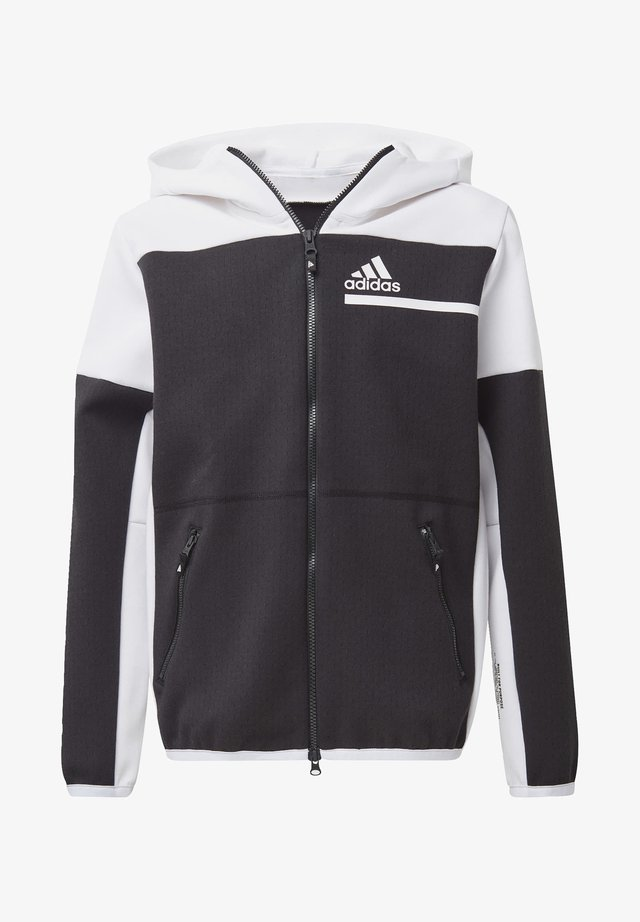 Z.N.E. FULL-ZIP HOODIE - veste en sweat zippée - black