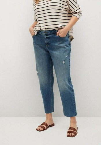 CLAUDIA - Jeans relaxed fit - mittelblau