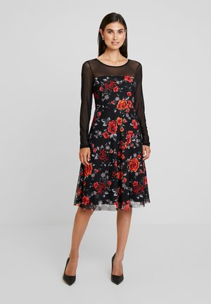 Vestito elegante - white/red/black