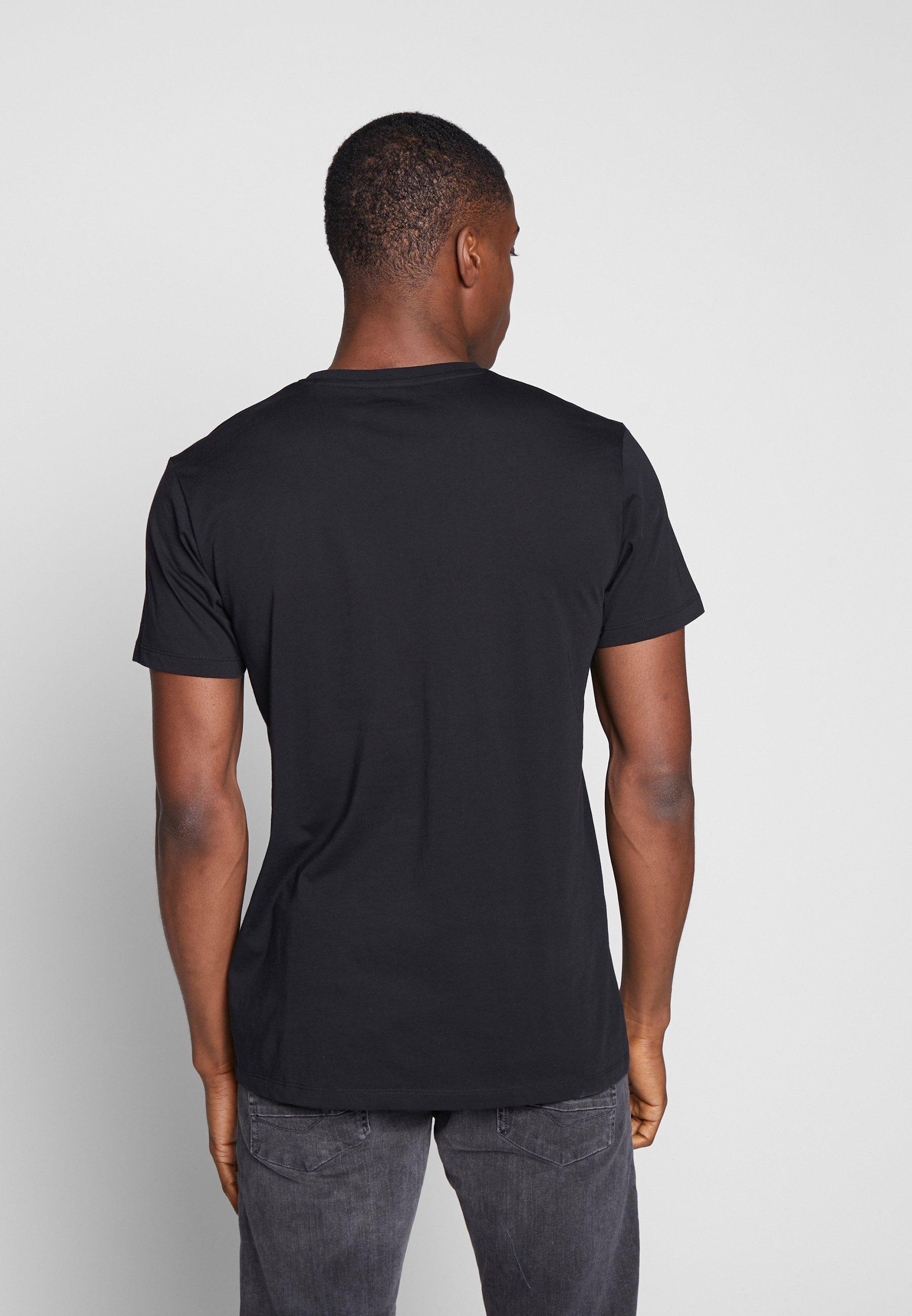 Esprit ICON 2 PACK - Print T-shirt - black uFRhR