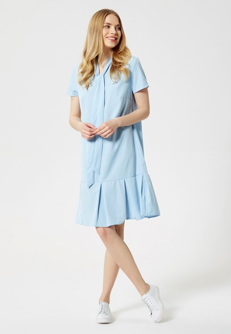 usha Vestido informal - light blue AGYth