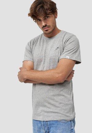 FEDER - T-shirt basic - hellgrau