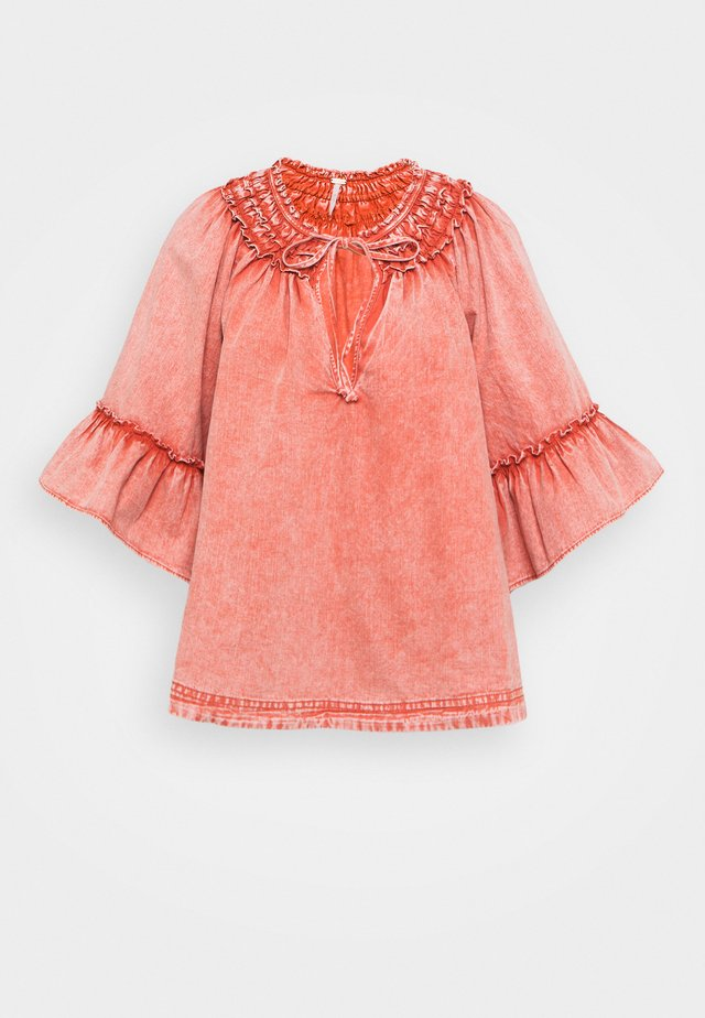 AINSLEY - T-shirt à manches longues - rose wash