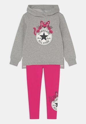CAT EAR HOODIE SET - Sweatshirt - prime pink