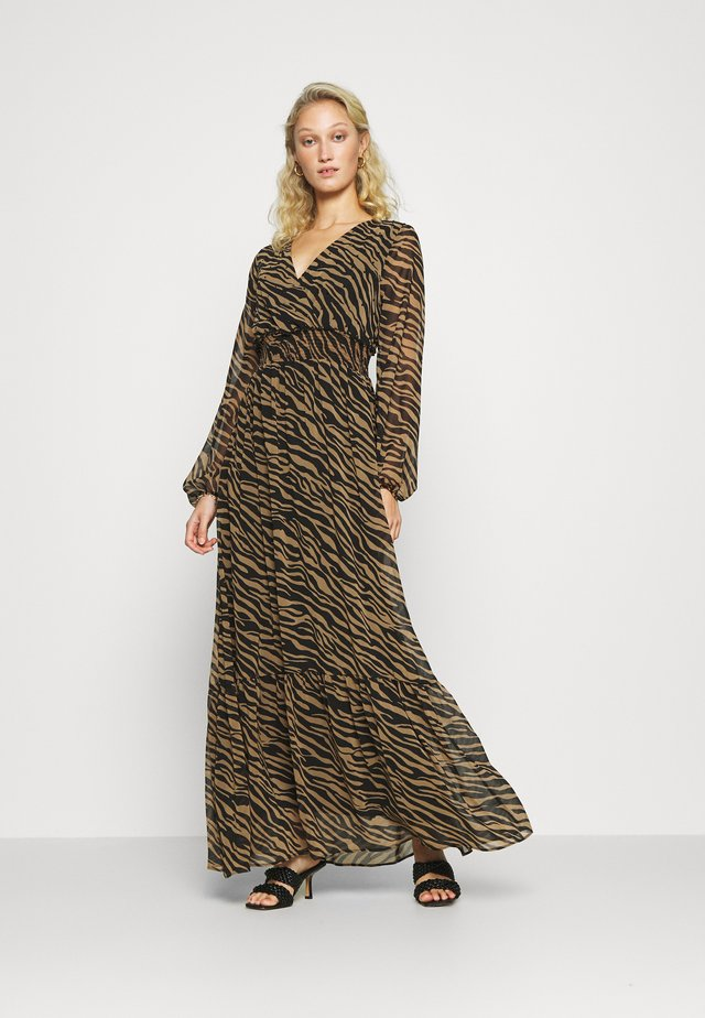 ABITO INDYUK - Maxi dress - winter animalier