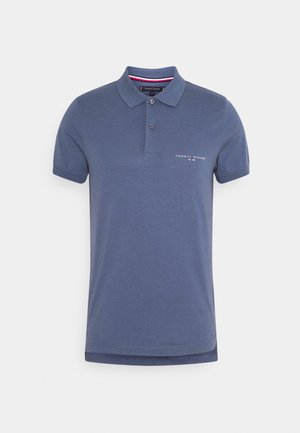 CLEAN SLIM - Polo - faded indigo