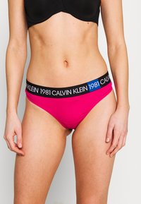 Calvin Klein Underwear - BOLD THONG - Tanga - quiver - 0