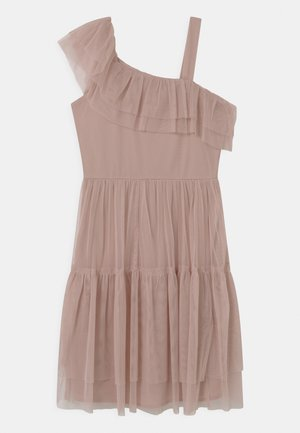 ASYMMETRIC - Cocktail dress / Party dress - frosted pink