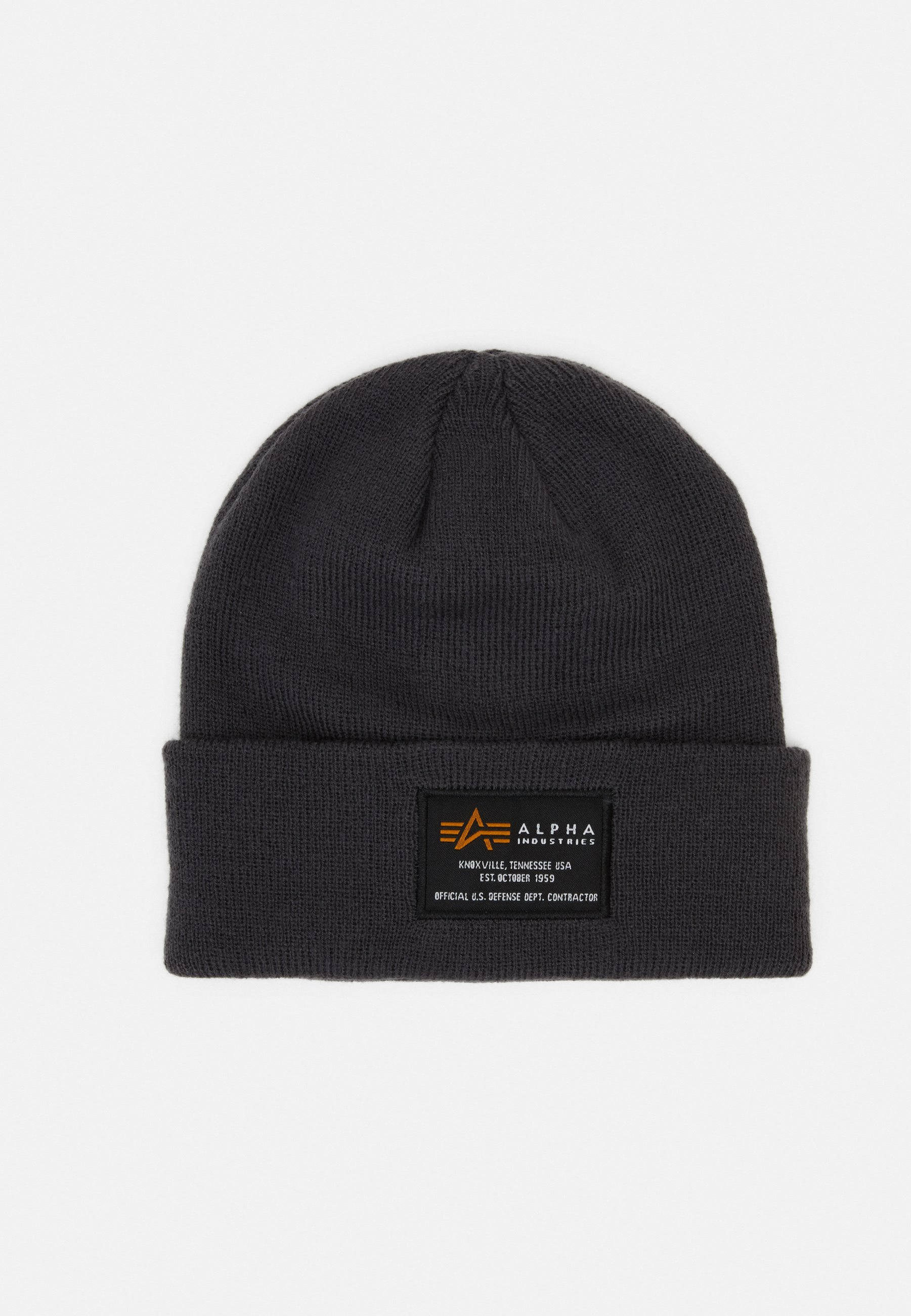 Alpha Industries Crew Beanie - Mütze Rep Grey/dunkelgrau