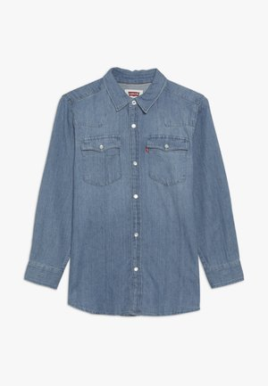 BARSTOW WESTERN  - Shirt - light blue denim