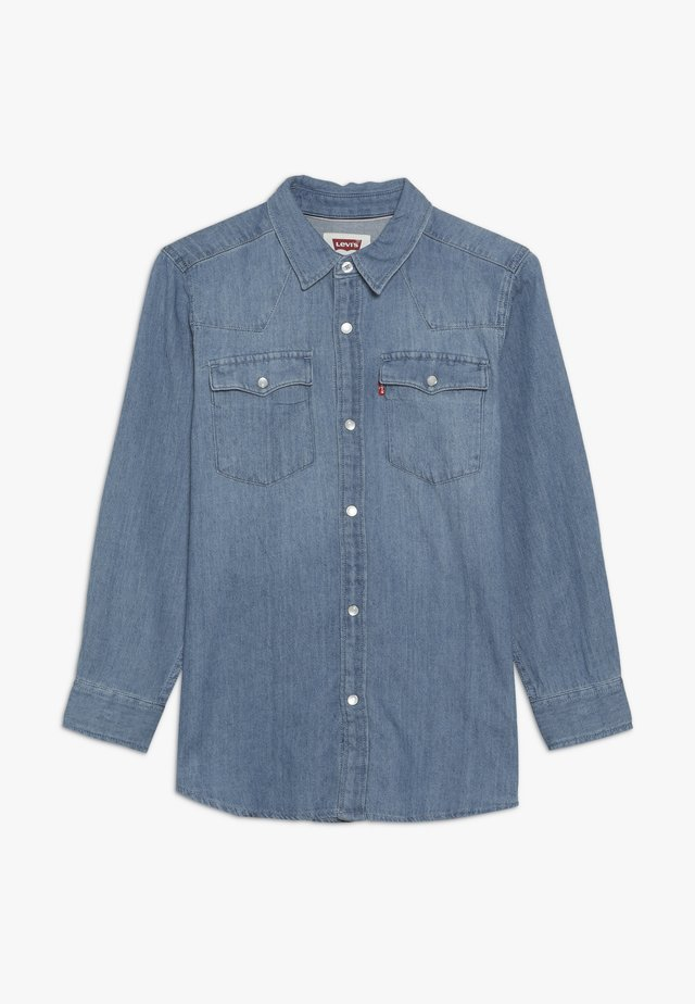 BARSTOW WESTERN  - Camisa - light blue denim