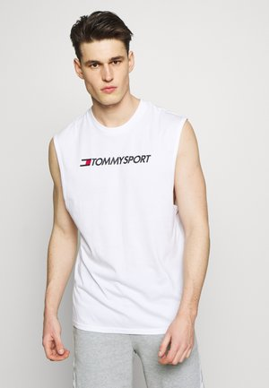 TANK LOGO - Sports shirt - white