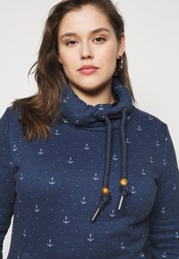 Ragwear Plus - RYLIE MARINA - Sweatshirt - navy - 3